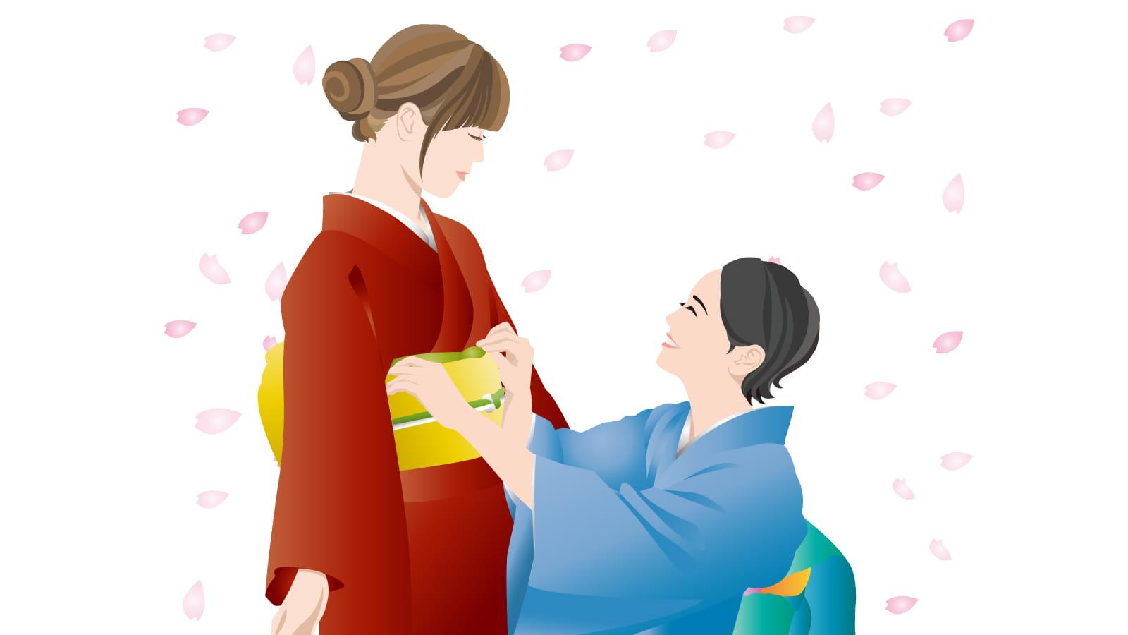 日本のおもてなし着物事情と着物ワンポイントアドバイス